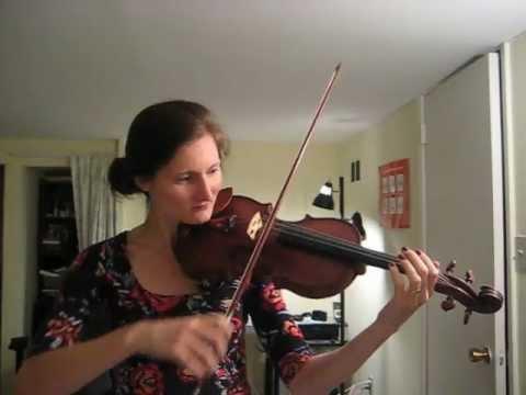 Acoustics on the violin: fundamental and harmonics