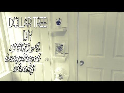 DOLLAR TREE DIY:IKEA INSPIRED SHELF