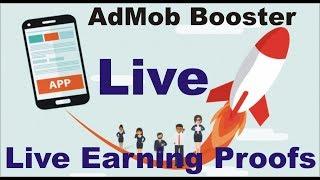AdMob Booster live earnings PROOF | AdMob Booster - Google AdMob Revenues Generator | Jugari Baba