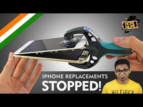 WHAT THE HELL? Apple stops iPhone REPLACEMENTS!