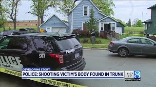 BCPD: Shooting victim's body found in trunk; 1 in custody