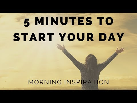 Wake Up & Conquer the Day - Morning Inspiration to Motivate Your Day