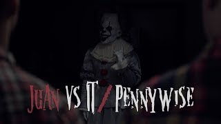 Juan vs IT - Pennywise | David Lopez