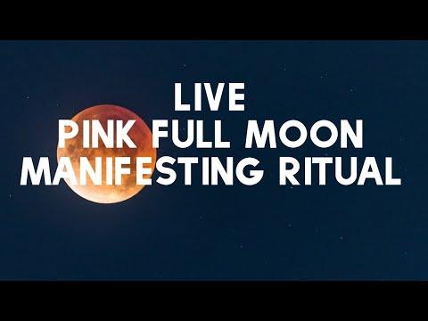 LIVE Full Moon Manifesting Ritual