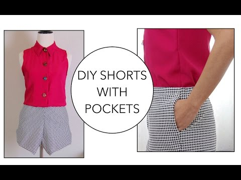 How to sew a pair of Shorts with pockets