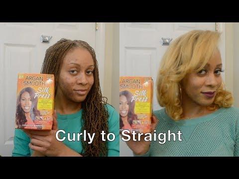 Curls, Coils & Kinks: Argan Smooth Silk Press
