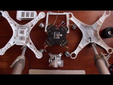 Teardown: Taking Apart a New DJI Phantom 3 Standard Drone