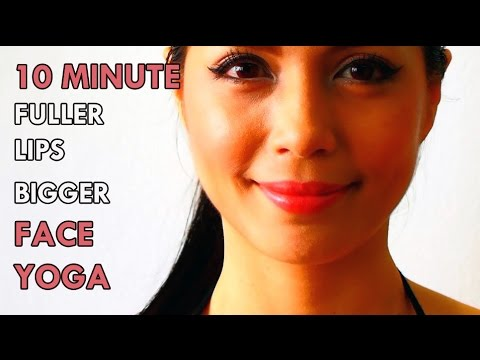 HOW TO: GET FULLER LIPS BIGGER IN 10 MINUTES WITH FACE YOGA