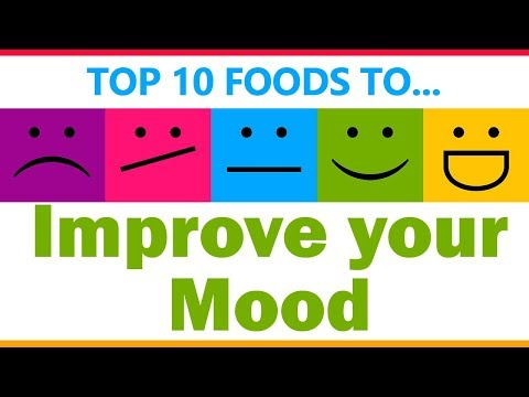 Top 10 Foods to Improve your Mood - Super Foods for Happy Mood - Best Foods for Improve your Mood