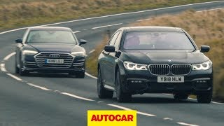 Audi A8 vs BMW 7 Series   What's the best luxury saloon to drive?   Autocar