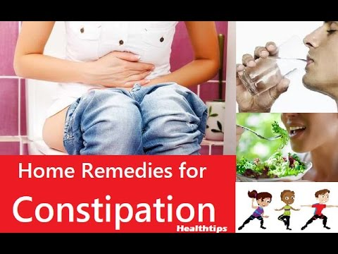 Home remedies for constipation, How to cure constipation