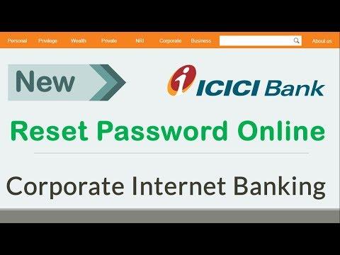 #2 [New] ICICI corporate internet banking password reset online in hindi - Somesh Gupta