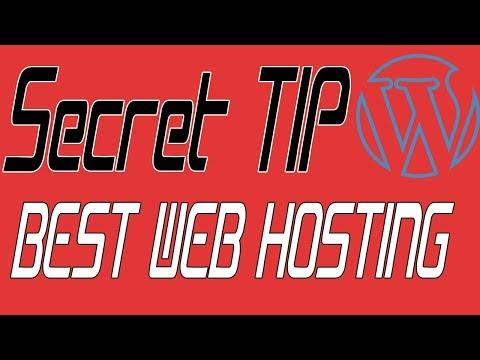 Best Web Hosting for Wordpress 2018 + Bluehost secret Tip