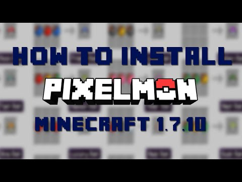 How to Install Pixelmon for Minecraft 1.7.10 [Mac]