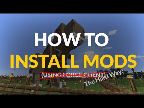 How to Install Minecraft Mods WITHOUT Forge!