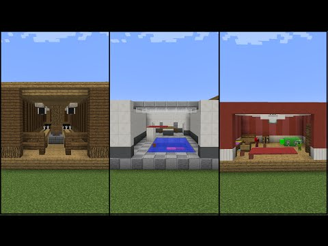10 Minecraft Recreation Room Designs!
