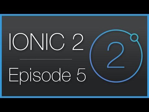 Ionic 2 • Explication et définition d'un web-service (API) • Épisode 5