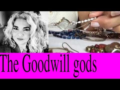 Jewelry Jar Bag Unboxing Vintage Time Piece Real Gold At Goodwill