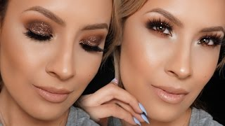 Makeup Tutorial Contouring And Highlighting ☀ Dramatic Double Cut Crease Makeup Tutorial HD