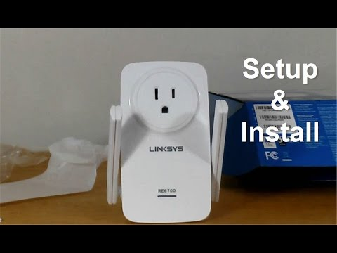 Linksys AC1200 WiFi Range eXtender - WiFi Repeater Setup & reView -Wifi eXtender for Gaming?