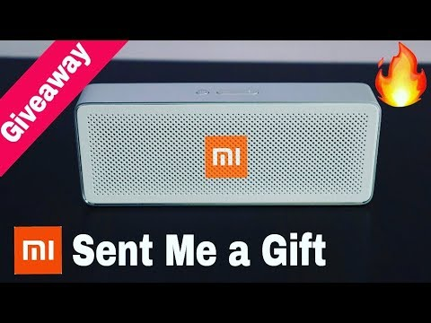 Mi Sent Me a Small Gift || Unboxing + Giveaway by Hindi Tutorials