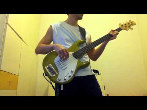 Fight Fire With Fire (Metallica Bass Cover) on a Musicman Stingray 5