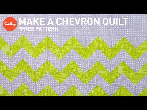 Chevron quilt project step by step (with free pattern!) | Quilting Tutorial