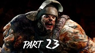 Dying Light Walkthrough Gameplay Part 23 - Demolisher Boss - Campaign Mission 11 (PS4 Xbox One)