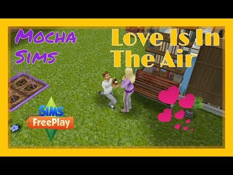 The Sims Freeplay - Love Is In The Air Quest