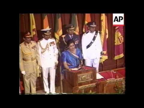 SRI LANKA - NEW PRESIDENT SWORN IN