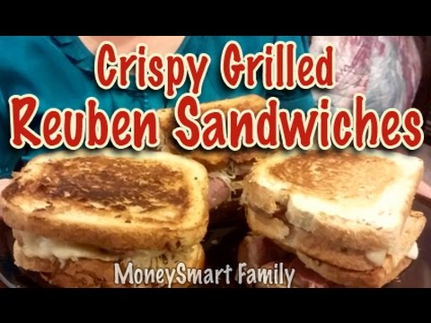 How to Make Crispy Grilled Reuben Sandwiches  - With America's MoneySmart Family