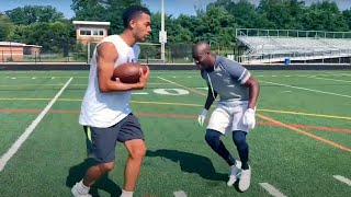 A Workout With NFL TALENT
