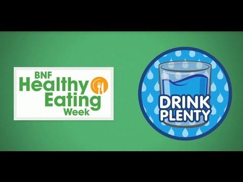 BNF Healthy Eating Week: Drink plenty