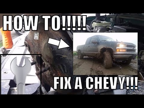 HOW TO REMOVE THE brake booster. installation Chevy 1500/how to fix the brakes on an old chevy/