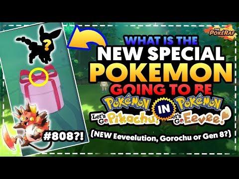 NEW SPECIAL POKEMON IS A NEW EEVEELUTION?! - Pokémon Let's Go Pikachu & Let's Go Eevee!
