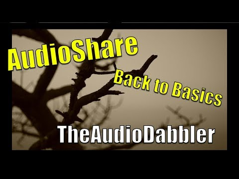 AudioShare | TheAudioDabbler - Back to the Basics iOS Essential Apps