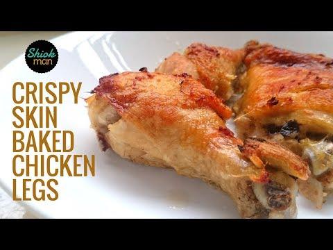 Shiokman Crispy Skin Baked Chicken Legs