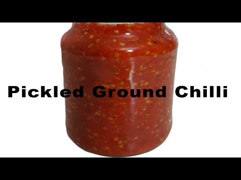 How to make Pickled Ground Chilli