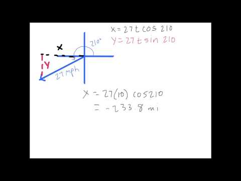 Linear Motion and Position with Vectors