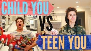 Child You VS Teenage You! | Brent Rivera