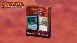 MtG Duel Deck Gameplay - Merfolk VS Goblins - PakVim net HD