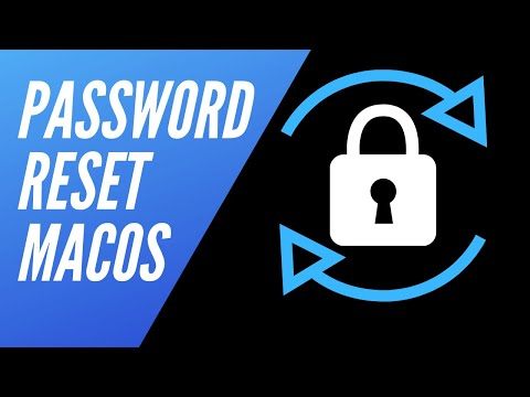 Reset Login Password macOS Sierra