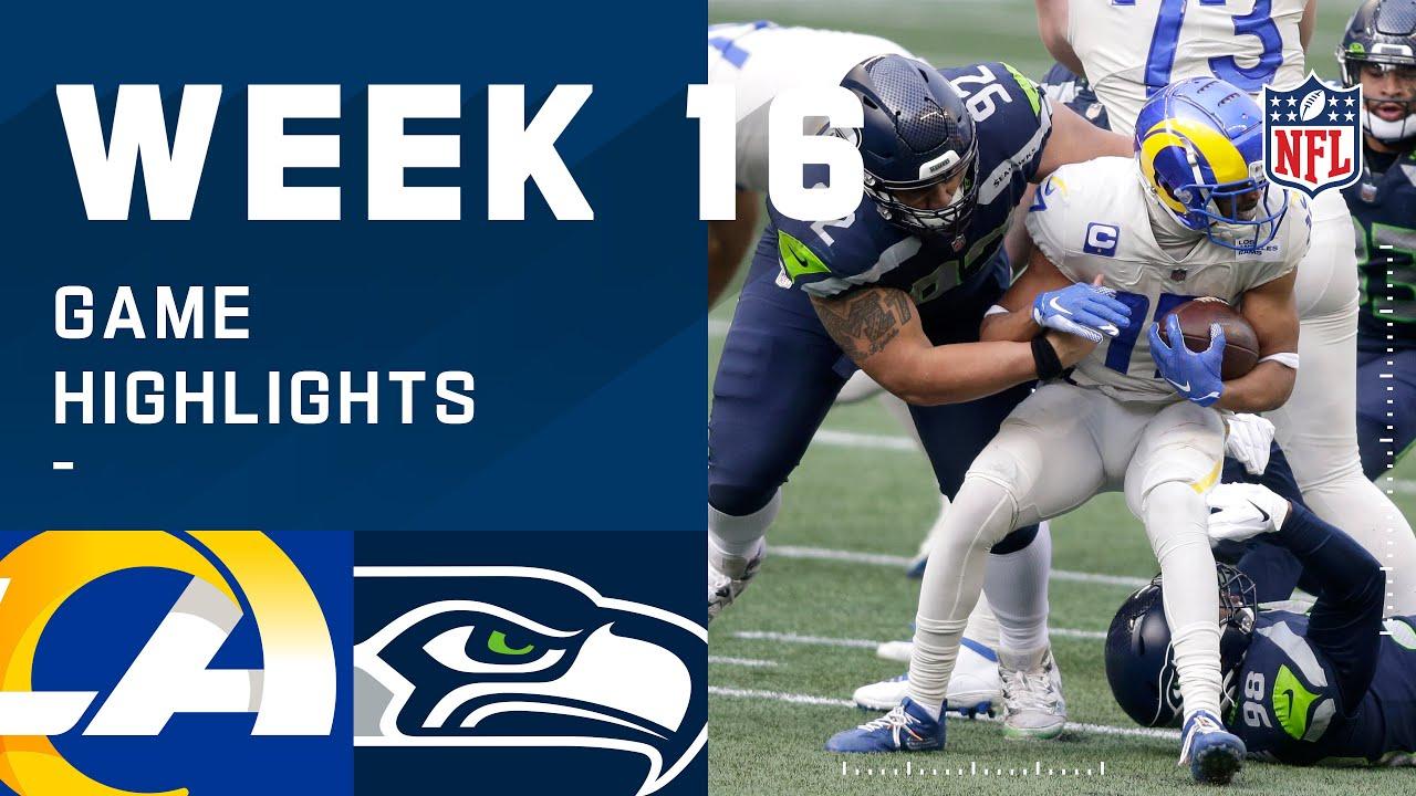 Rams vs. Seahawks Week 16 Highlights | NFL 2020