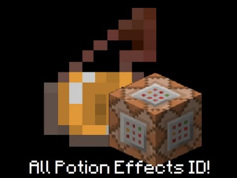 All Minecraft Potion Effects ID
