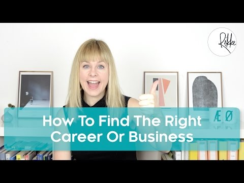 How To Find The Right Career Or Business After 30 or 40