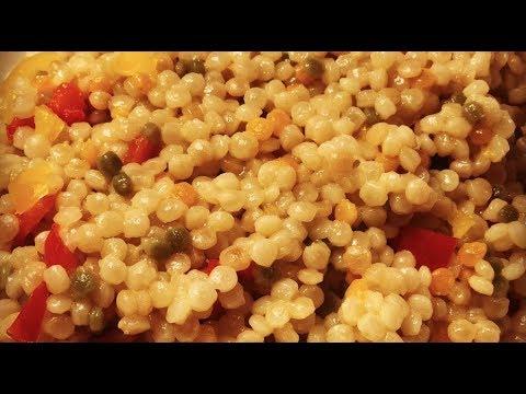 Instant Pot Israeli (Pearl) Couscous