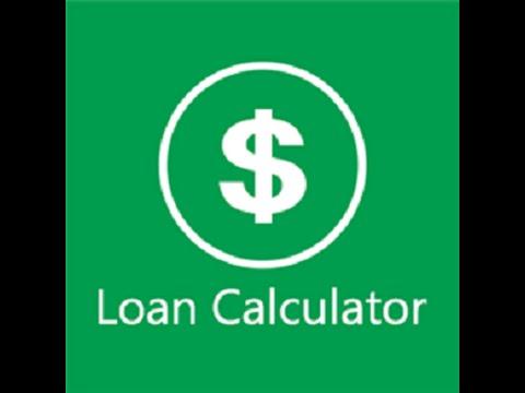 How To Create Loan Calculator 1