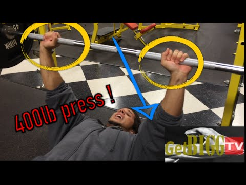 How To Increase Strength On Bench Press w/
