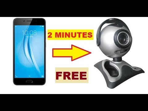 HOW TO USE YOUR PHONE OR TABLET AS WEBCAM ON PC FOR FREE