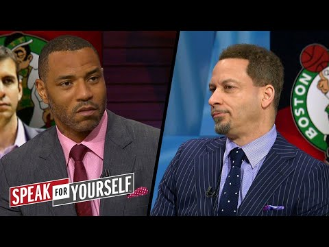 Chris Broussard on Celtics and Rockets going into 2018 Conference Finals | NBA | SPEAK FOR YOURSELF